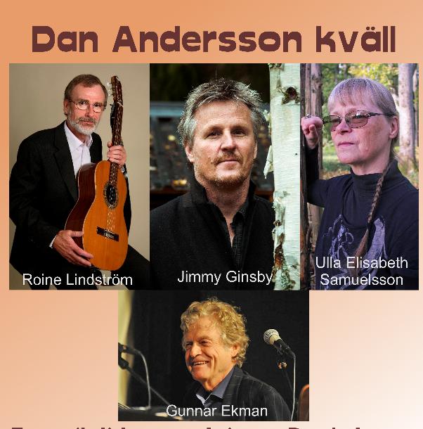 Dan Andersson kväll – Gräfsnäs bygdegård dfa1a0b62c7d7