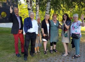 Frv. Jan Hammarlund, Lars Werner, Ingrid Åkesson, Carina Asplund, Eva Dahlänger och Mildred Näsström representerade Jämtland på förbundsstämman.