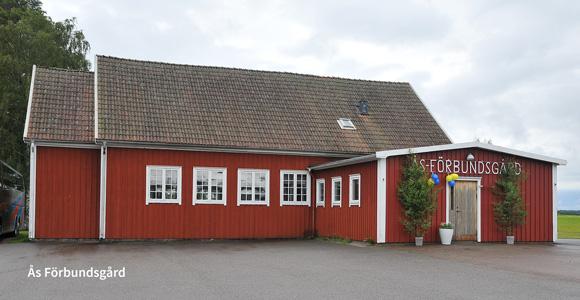 Ås Förbundsgård, Gislaveds kommun, Jönköpings län - första bygdegården i Sverige, byggdes 1919.