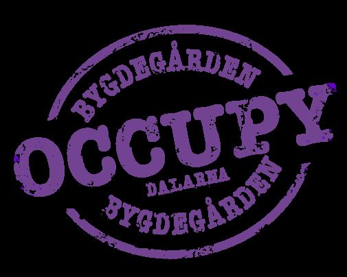 Occupy Bygdegården Dalarna - logotyp