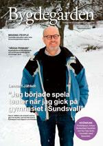 Bygdegården nr 4 2018 - framsida med Lennart Jähkel