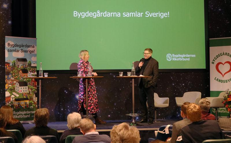 Landsbygdskonferens 2020 Josephine Bladh och Per Lodenius