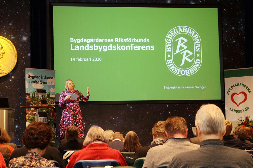 Landsbygdskonferens 2020 Josephine Bladh
