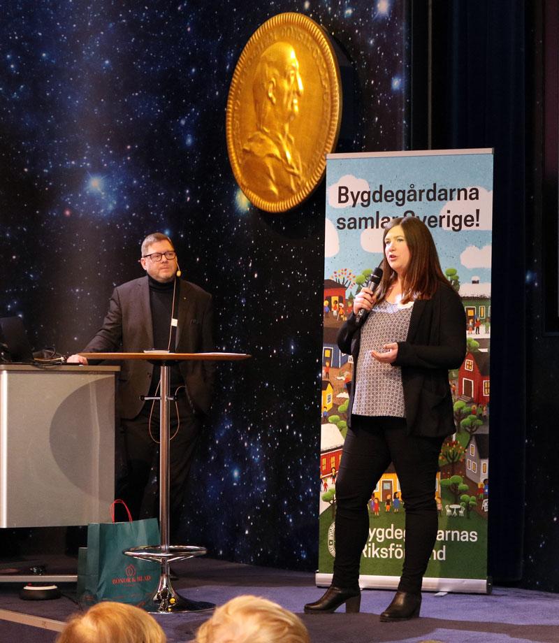 Landsbygdskonferens 2020 Per Lodenius och Karin Fälldin