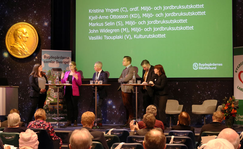 Landsbygdskonferens 2020 Politikerpanel