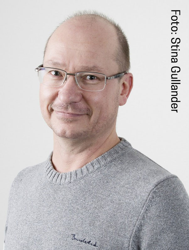 Kenneth Lundmark. Foto: Stina Gullander